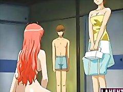 Banda Desenhada Casais Hentai Animação