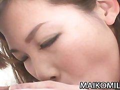 אסיאתיות זוג יפניות ציצים