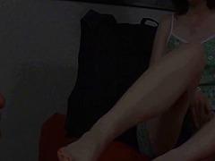 שליטה נשית פטיש פטיש כפות רגליים גרבונים גרבונים