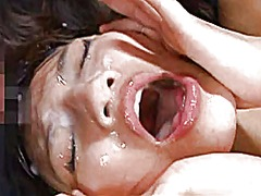 אסיאתיות גמירה המונית גמירות גמירה על הפנים יפניות