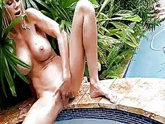 Blonde puma swede shows it all for cam
