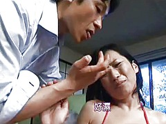 Japanese mom seduced by salesman - cireman