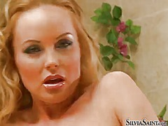 Silvia saint wants him shove his schlong in her cunt over and over again