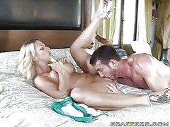 Hot blonde brianna beach gets her pussy ripped off