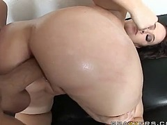 Brunette amber peach is the one featured today in this ass to mouth