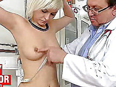 Ebony girl manuella visits unlicensed fetish clinic
